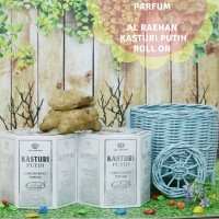 Parfum Minyak Wangi Al Raehan Kasturi Putih - 6 Botol