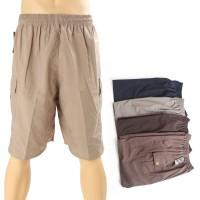 [Dapat 4pcs] Celana cargo Jumbo VLO / 4 warna