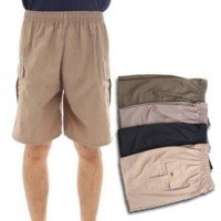 [Dapat 4pcs] Celana cargo pendek / 4 warna