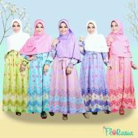 Paling Murah Baju Gamis Katun Motif-Dress Cantik Untuk Sehari hari