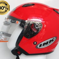 HELM INK CENTRO JET SOLID FIRE RED ORIGINAL