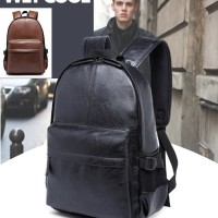 Tas Ransel Backpack WET COOL Tas Komputer/Tablet/iPad Kulit