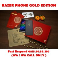Ready Stok Razer phone / Razerphone Gold Edition 8/64gb COD Jakarta