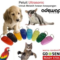 Clickers peluit ultrasonic melatih sugar glider parrot anjing kucing