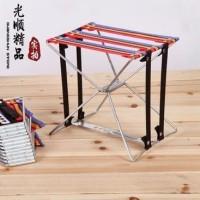 Amazing Portable Pocket Chair Kursi Bangku Lipat Kecil Kereta Piknik^