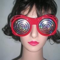 PROMO Funny Glasses Hypnotic X Ray/ kacamata pesta unik untuk photo