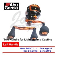 Reel Bait Casting Murah Abu Garcia Orange Max Left Handle