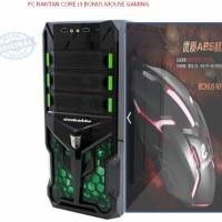 PC Rakitan intelCore I3+Monitor Led/CPUi3/DDR 2GB/Hdd160/LED16 BANDUNG