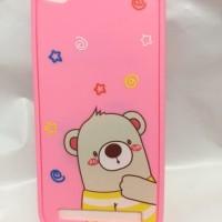 Casing HP Xiaomi Redmi 5A - Gambar Bear Lucu
