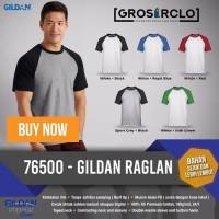 Gildan Raglan Kaos Polos Original Satuan Grosiran Murah Jakarta baju