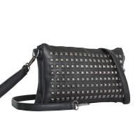 Tas Shoulder Bag Hitam Tote Wanita Remaja Impor - Tas Selempang Batam