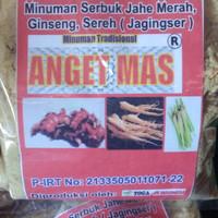 Sari Jahe Merah JAGINGSER Produk Toga As Indonesia