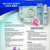 MSI gold beauty face mist