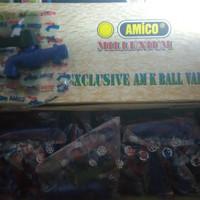 "Kran PVC Amico 1/2"" Original (1 box isi 24 bh)"