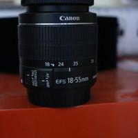 Lensa Kit Canon 18-55 (Lensa Standar)