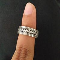 Cincin perak bakar 925 handmade khas KOTAGEDE