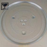 Piring Microwave Original SHARP R-728 || Rotating Glass || Glass Tray