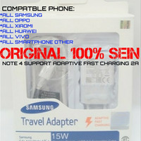 CHARGER SAMSUNG NOTE 4 ASLI 100%/CASAN SAMSUNG ASLI/TC SAMSUNG ASLI