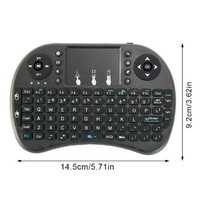 keyboard Mini Wireless USB Receiver untuk android dan Smart TV bisa