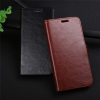 CASE ASUS ZENFONE MAX ZC550KL LEATHER FLIP COVER WALLET KULIT CASING