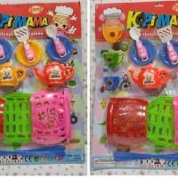 Mainan Anak Keranjang Tas Perlengkapan Mainan Gelas Kopi Mama Murah