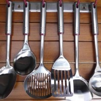 Dijual Oxone Kitchen Tools Ox-963 Stainless Steel Spatula / Sutil Anti