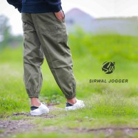 Celana Panjang Pria - Celana Sirwal Jogger HIJAU - Jogger Pants