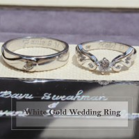 cincin wedding gold 21k (white,rose,yellow) + platidium