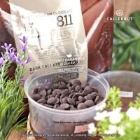 Dark Chocolate Couverture Callebaut Import Cokelat Coin 54,5% 500gr