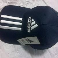 Topi Bola Grade Ori Adidas Black (100% Cotton)