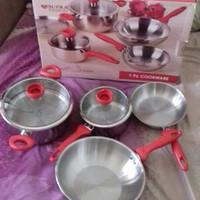 Panci Set Supra Impact Series Cookware (7 pcs)