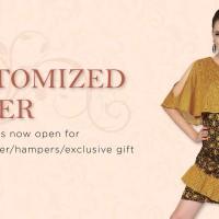 Jual batik keris atasan dress high quality Murah