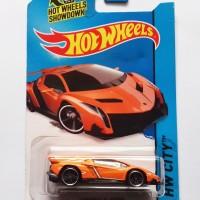 Hot Wheels / Hotwheels Lamborghini Veneno Orange