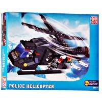 Mainan Anak Edukasi Emco Police Helicopter Seri 8807