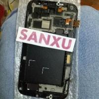 LCD TOUCHSCREEN SAMSUNG GALAXY MEGA 6,8 I9200 FRAME Limited