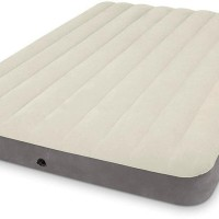 Intex - Kasur Angin Full Deluxe Single High Airbed Free Pompa Intex