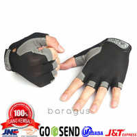 Sarung Tangan Pria Wanita Import - Sport Gloves 02 - Sepeda Gym Motor