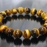 (Produk Baru!!) Gelang Tasbih Batu Akik Tiger Eye Natural Untuk Terapi