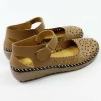 Lilyshoes Sandal Sepatu Selop Laser Casual Wanita Globe