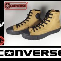 Sepatu Converse All Star High Hitam Coklat + Box Grade Original Harga