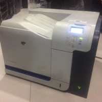 Printer Merk HP COLOR LASERJET CP3525N MINUS ADA ERRORNYA