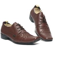 Sepatu Pantofel Pria Cevany Anyam