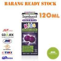 Sambucol Cold & Flu Kids Cough Liquid - 120ml