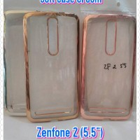 Model Baru... Soft Case Croom Asus Zenfone 2 (5.5