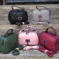 Tas Wanita Fashion Branded Import Batam HandBag Chanel Apple Sling Bag