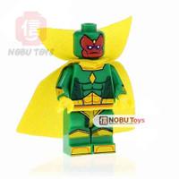 Jual CLASSIC VISION XH712 MARVEL AVENGERS COMIC INFINITY WARS Lego kw murah Murah