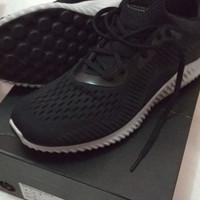 adidas alphabounce em hitam bnib 41 1/3 ori adidas co id