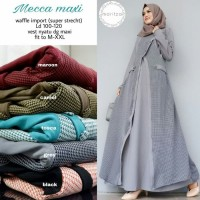 Dress Model Terbaru Simpel Keren Mecca Maxi By Moritza 666