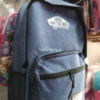 tas denim anak sekolah / remaja ransel bodypack (jual jg alto *T