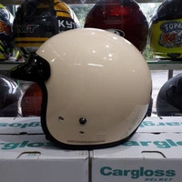 HELM CARGLOSS CF RETRO CREM CARGLOSS HALF FACE